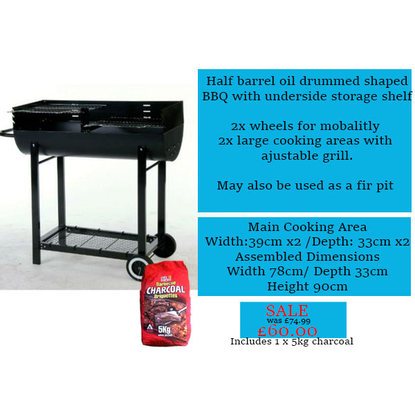 Charcoal bbq offer