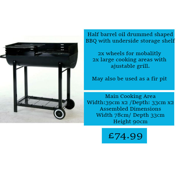 Life style charcoal bbq web page