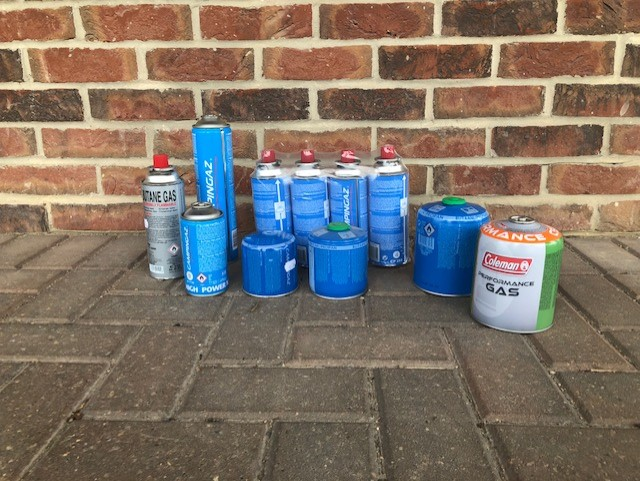 Portable Gas Canisters