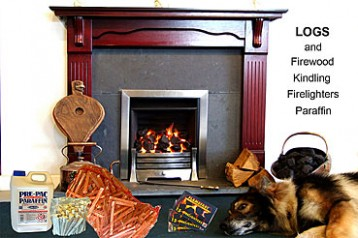 Catleys Logs, Firewood, Kindling, Firelighters and Paraffin